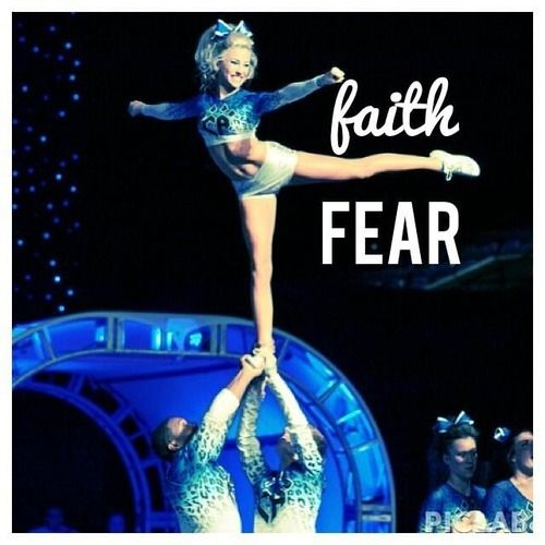 My favorite quote! faith over fear ~ Peyton Mabry