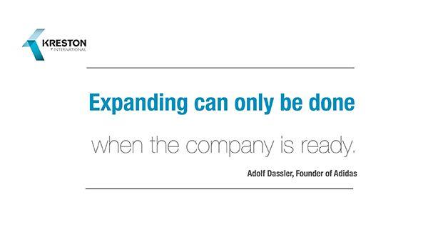 #QuoteOfTheDay, by Adolf Dassler, Founder of Adidas. #Kreston