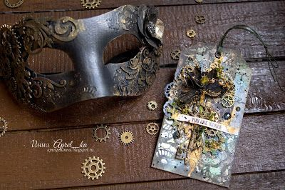 "Entry to September / October 2016 challenge ""Steampunk"" by Aprel_ka"