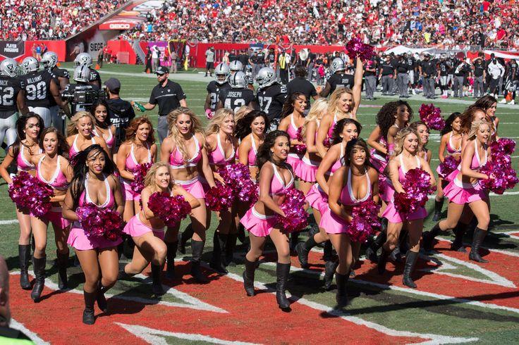 https://flic.kr/p/NFczLe | Buccaneers Cheerleaders | 309 Raiders at Bucs 103016