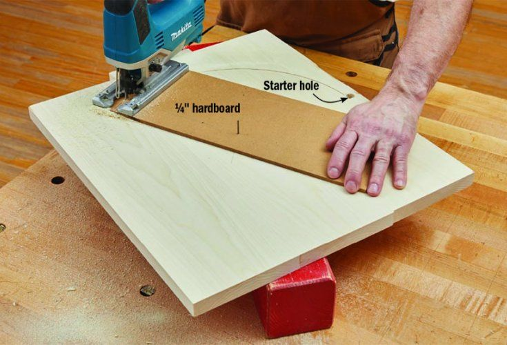 How Do I Make Perfect Circles With A Jigsaw Woodworking Jigsaw Woodworking Shaker Woodworking Plans