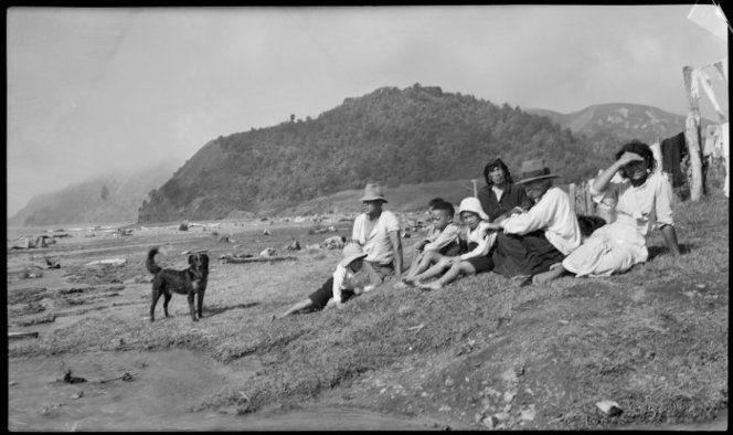 Unidentified Maori group, Awanui district