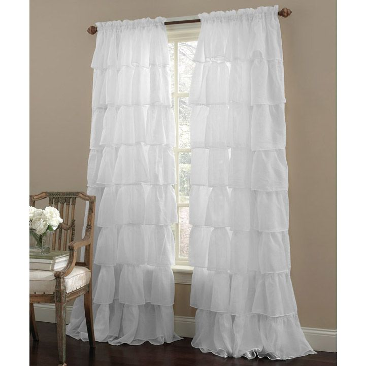 948 best images about shabby chic love on pinterest Shabby chic curtain window