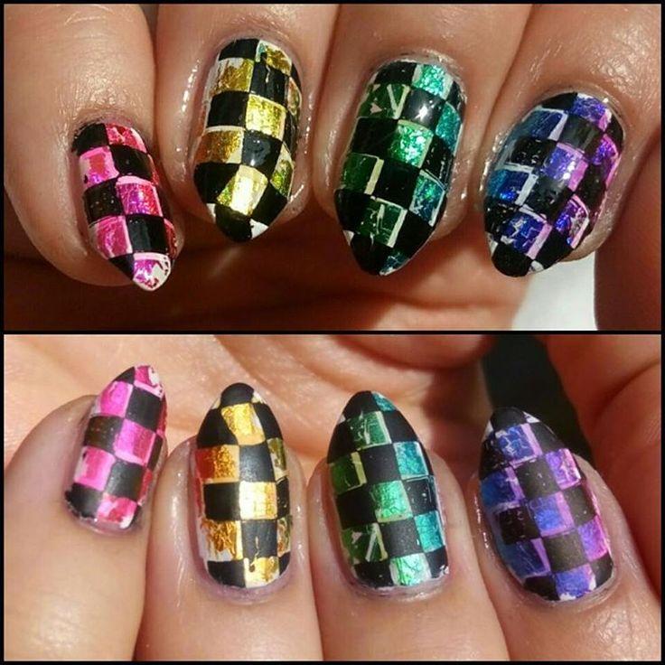 Zobacz na Instagramie zdjęcie użytkownika @paznokcie_jgd • Polubienia: 63 Rainbow nails art, nails