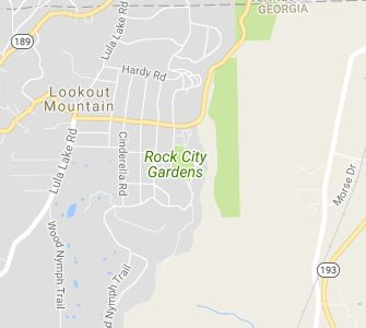 Located atop Lookout Mountain, six miles from downtown Chattanooga, Rock City is a true marvel of nature featuring massive ancient rock formations, gardens with more than 400 different native plant sp