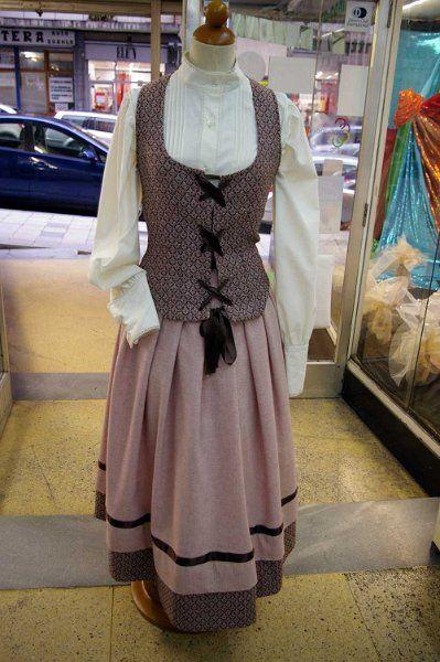 falda casero