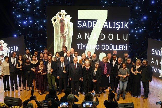 7.Sadri Alışık Ödülleri'ni kazananlar belli oldu - 1 | NTV