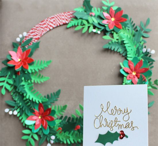 CHRISTMAS WREATH DESIGNS WITH CARD STOCK. We are very excited to welcome card crafting extraordinaire Melly Moo to the PaperCutz blog. The guest post spot involves the most creative blogger around making something truly special with our best card making stock. This month, we get into the festive spirit with Melly Moo as she shows us how to make a very impressive paper Christmas Wreath and a matching card. Let the fun begin!