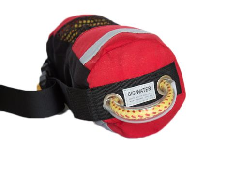 This waist throwbag fits up to 20mtrs of our 9.1mm High Tensile rope.  Buy online at Big Water.