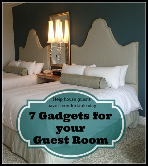 7 Guest Room Gadgets for Holiday Houseguests