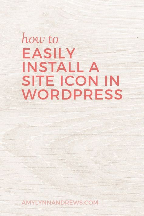 Are you missing this simple branding tip? How to easily install a site icon (or favicon) in WordPress.