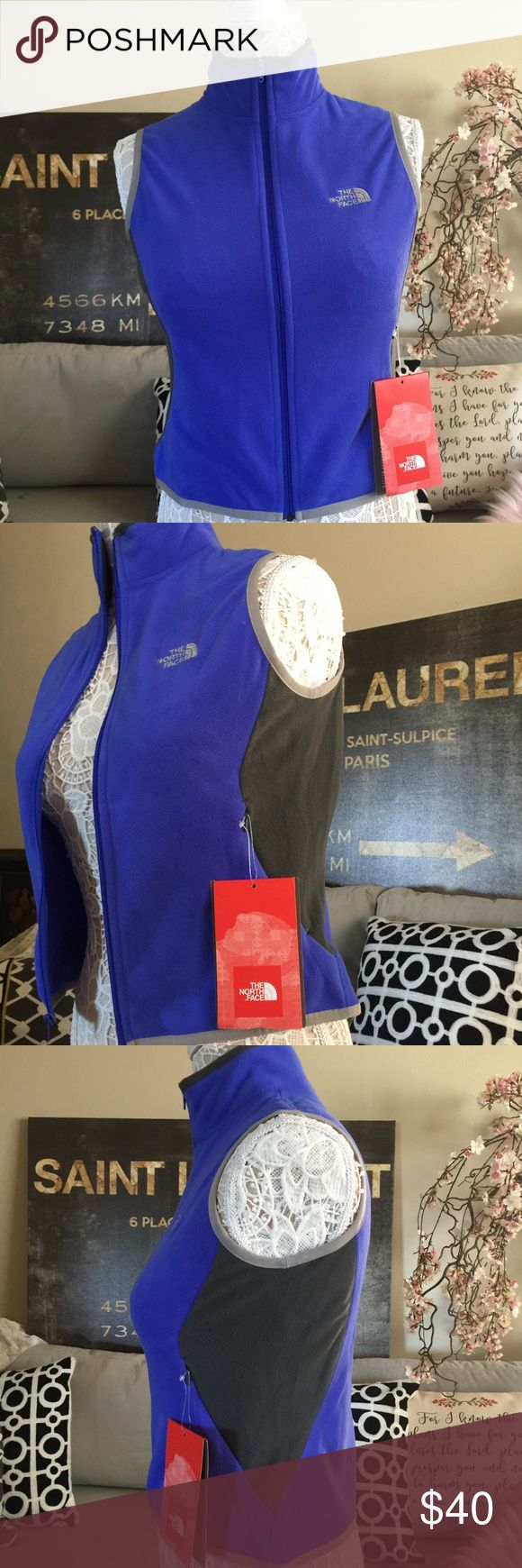 The North face Vest NWT North Face Blue Vest•Size Small • The North Face Jackets & Coats Vests