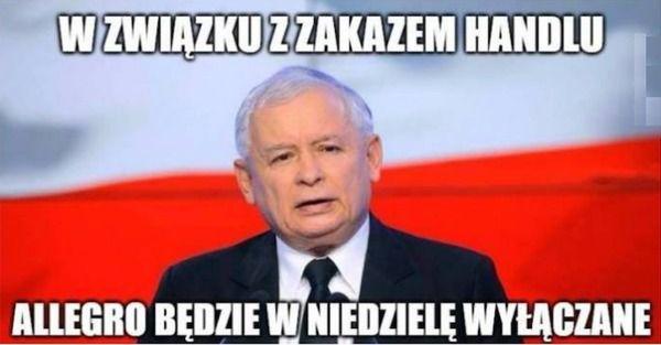 Zbiór najlepszych memów o zakazie handlu w niedzielę – Demotywatory.pl