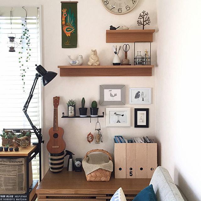お部屋の中でも、大きな面積を占める壁面。ここを活用しないなんてもったいない!壁面をオシャレにセンス良くディスプレイする4つのコツをご紹介します。RoomClipユーザーさんたちが思い思いに楽しんでいる壁には、すぐマネできる工夫やアイディアがいっぱい♪