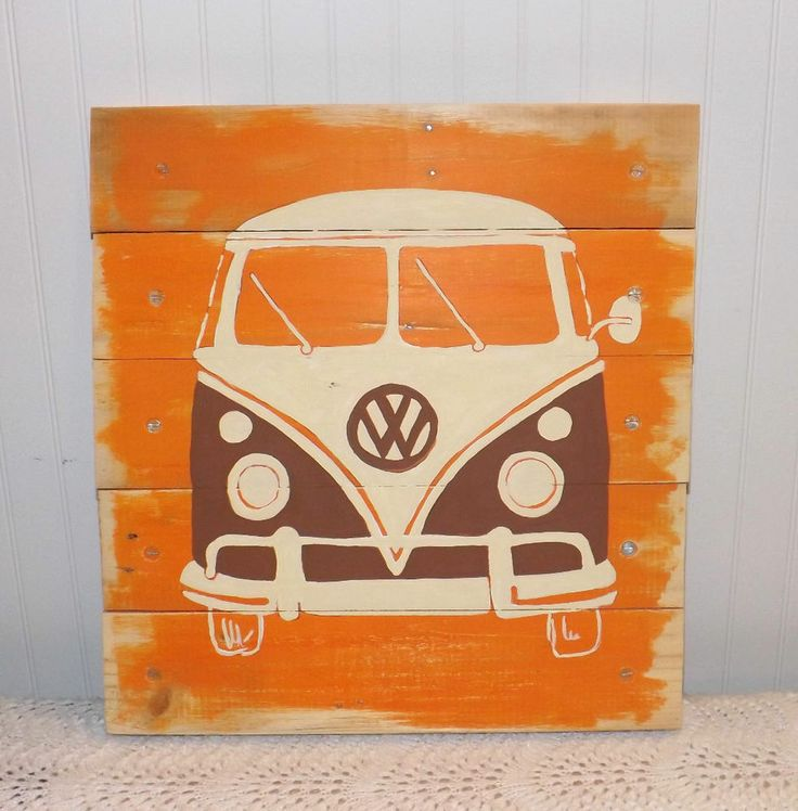 Retro Wall Art 19 best my creations images on pinterest | pallet art, buses and