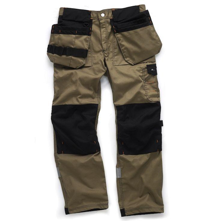 Trade Trousers | Hardwearing Work Trouser with Cordura | Scruffs
