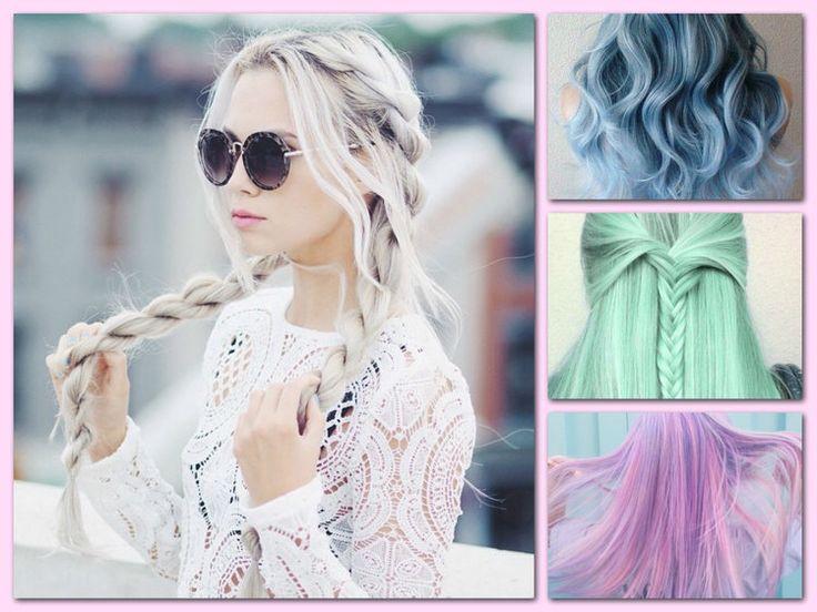 Pastelowe włosy. Hot or Not?