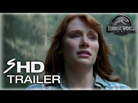 Jurassic World 2: Fallen Kingdom (2018) First Look Trailer - Chris Pratt, Bryce Dallas Howard - YouTube