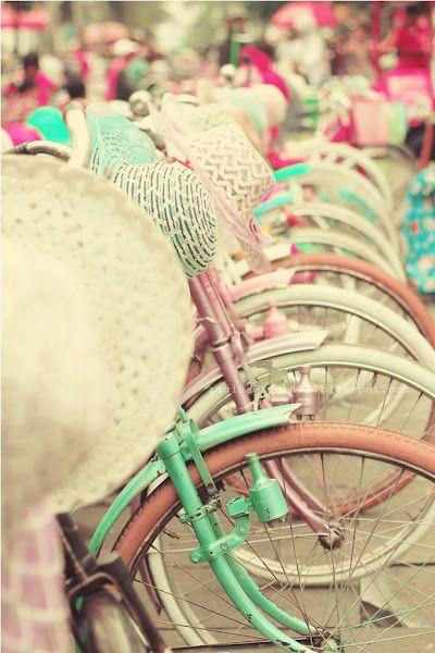 Para aguçar a vontade de pedalar no parque...