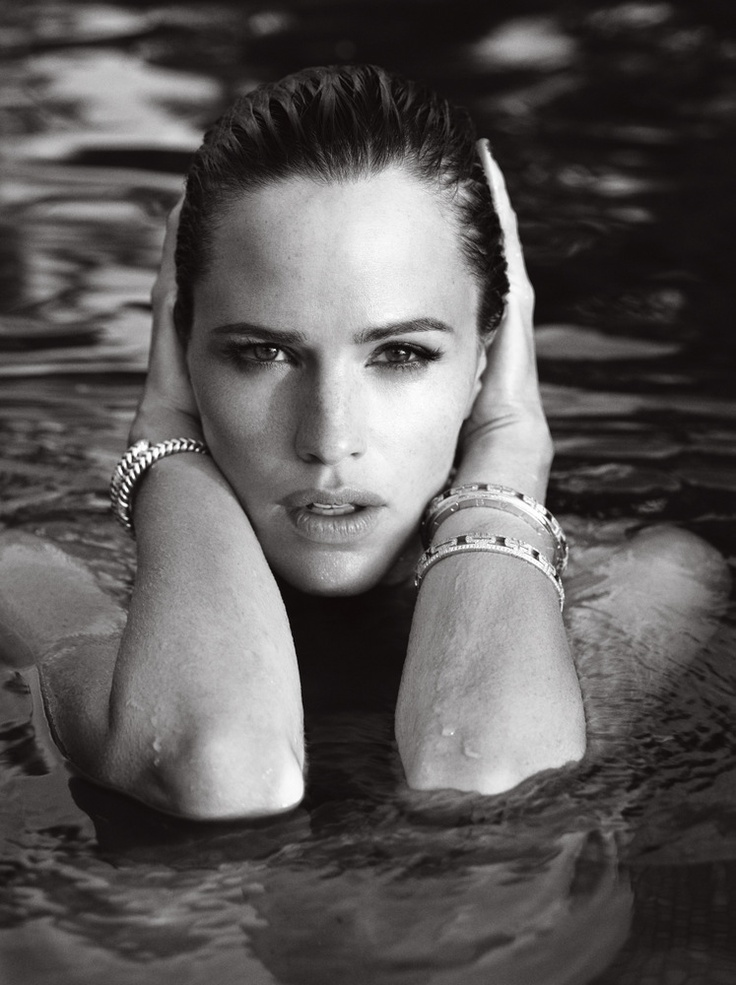 Jennifer Garner by Mark Abrahams for Marie Claire 2007