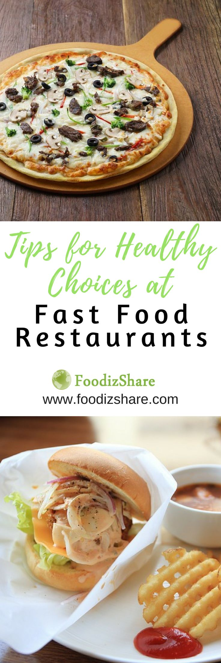 The following tips and menu recommendations can help you make healthier choices at fast food restaurants. Just remember that even the healthiest fast food options often have nutritional drawbacks so try to keep fast food to the occasional treat.
