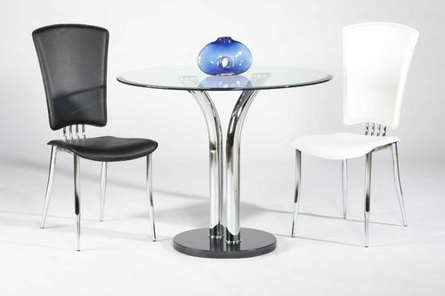Small Round Glass Top Dining Table Modern Coffee Tables