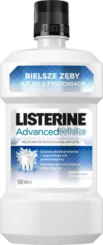 amazing is not it? on our store: LISTERINE White A... Check it out here! http://elivera.co.uk/products/listerine-white-advanced-liquid-mouthwash-500ml?utm_campaign=social_autopilot&utm_source=pin&utm_medium=pin