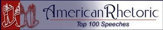 100 of America's most popular speeches, audio and written