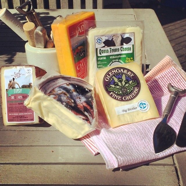 My #CDNCheese arrived! I think a beach picnic is in order... #foodie #simplepleasures