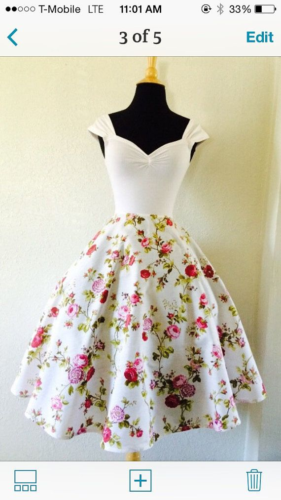 White Rose ROCKABILLY Swing Dress Capped Sleeve by MoonbootStudios