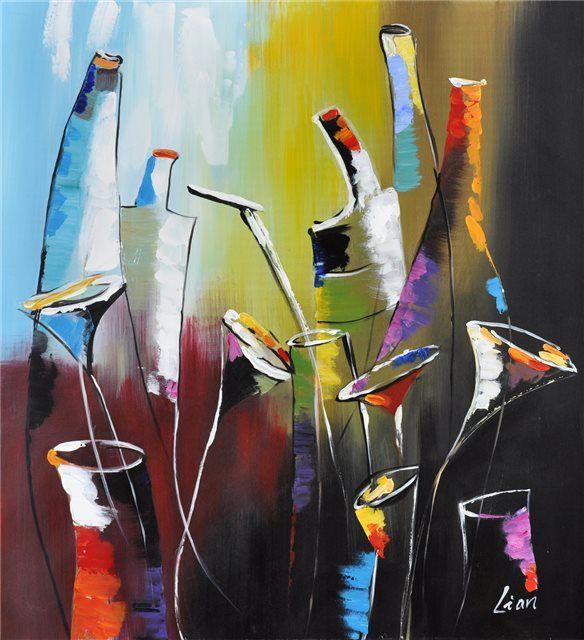 """Schilderij """"Allerlei kruiken"""" te koop @Betaalbarekunst.nl"""