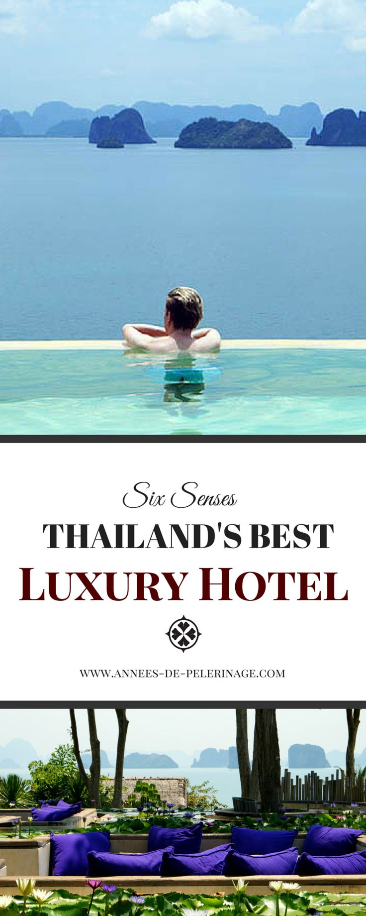 The Six Senses hotel on remote Koh Yao Noi might be Thailand's best luxury hotel. The setting certainly is more than perfect