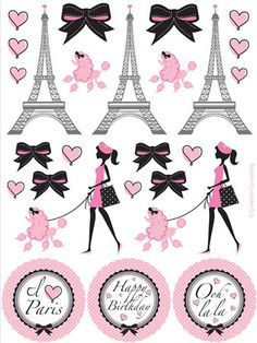 Party in Paris Sticker Sheets | 4 ct