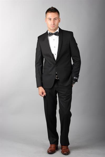 История приталенного мужского костюма