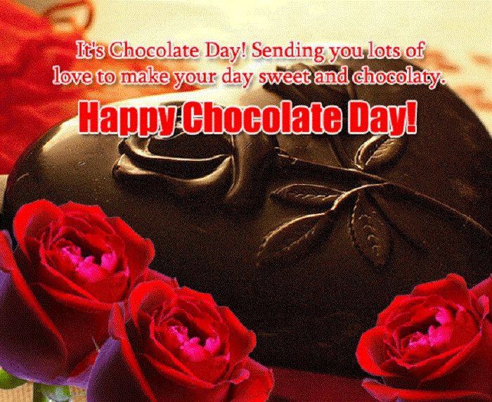 Happy Chocolate day chocolate Wishes