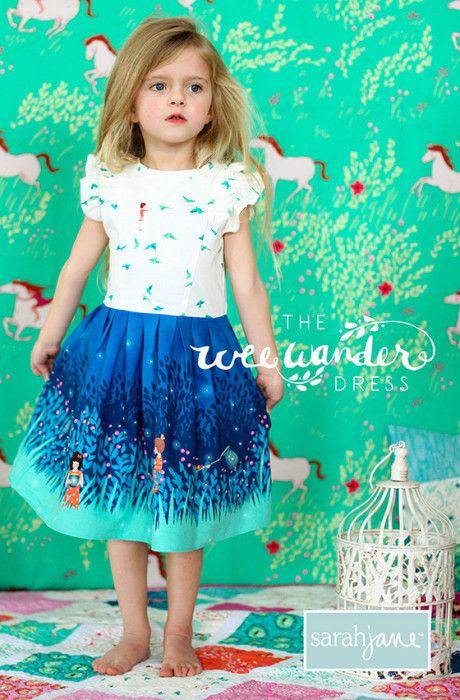 15 Free Little Girl Dress Patterns and Tutorials!!  fabnfree.com  #diy #sewing