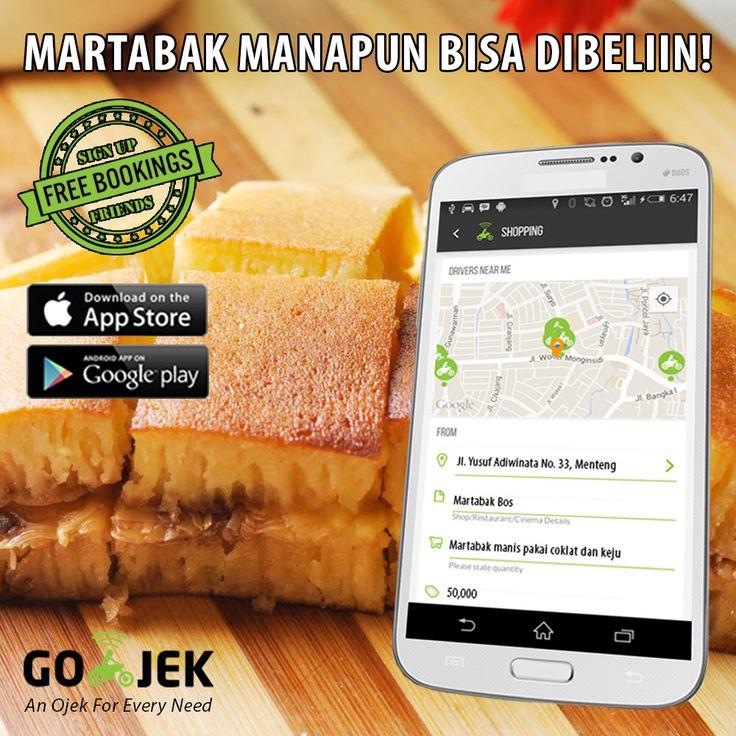 Lapar? Kita beli apapun, ditalangain & dikirim secara instan! (max harga 1jt) Download GO-JEK App - www.go-jek.com/app #gojek4life