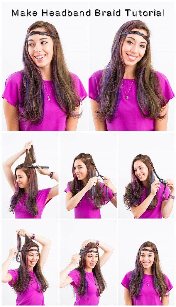 Make Headband #Braid #Tutorial