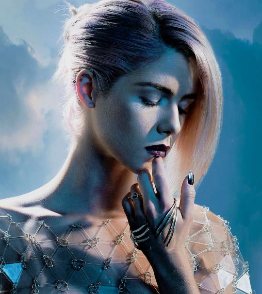 emily bett rickards for vvv magazine