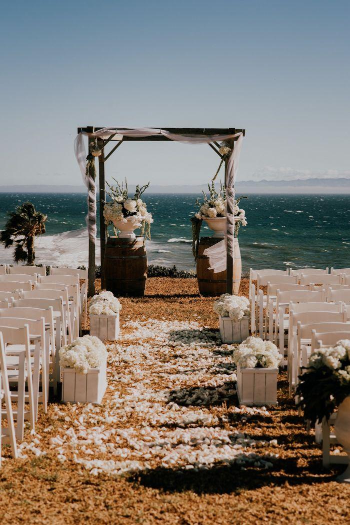 Idyllic + elegant  outdoor California wedding at Dos Pueblos Ranch | Image by Alexander Photography