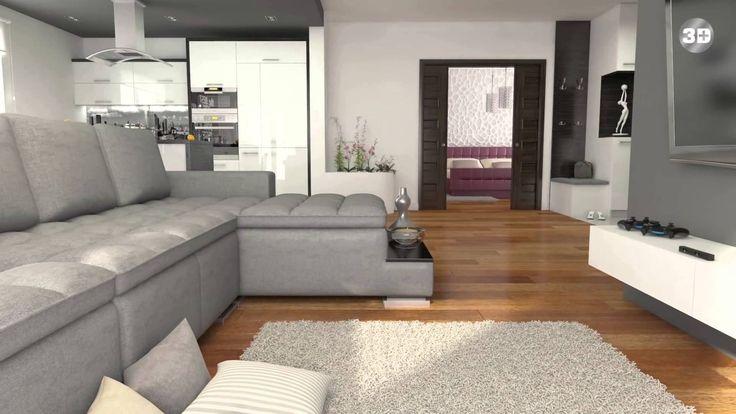 Prezentacja nowoczesnego mieszkania - animacja 3D