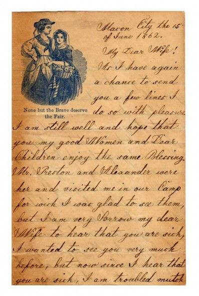 Letter from the Civil War
