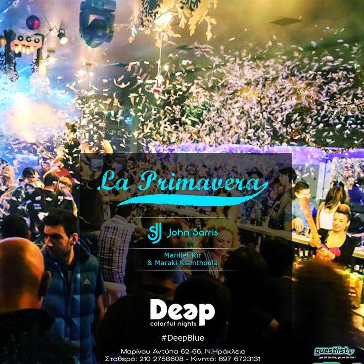 #DeepBlue #LaPrimavera