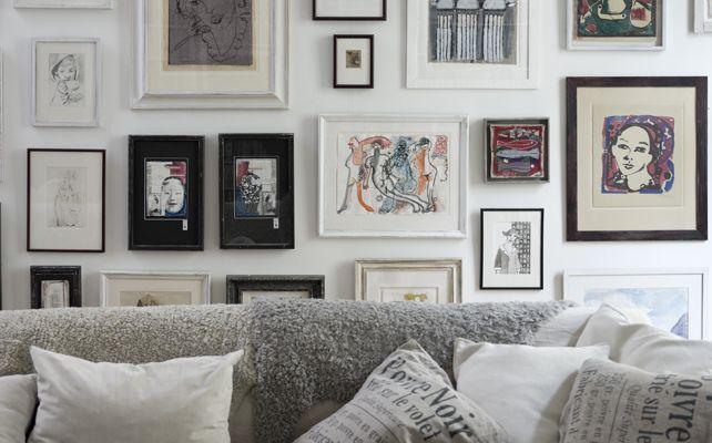 Come appendere i quadri alle pareti | CASAfacile