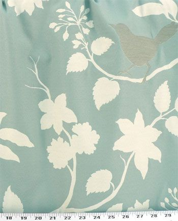 Drapery Upholstery Fabric Silhouettes