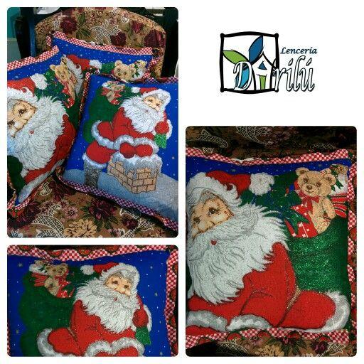 Navideños papá Noel
