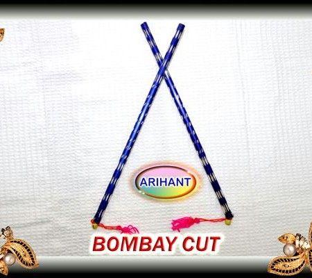 Blue dandiya sticks craft