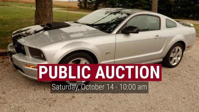AUCTION - TOPEKA  DATE: Saturday, October 14 - 10:00 am LOCATION: 19042 NCR 2280 E., Topeka, IL   A very impressive collection of  Collectibles, Toys, Personal Property, Antiques PLUS 2006 Ford Mustang GT