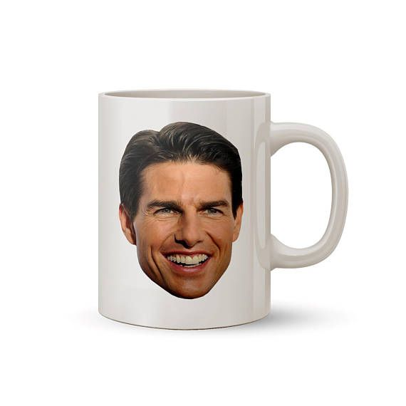 Tom Cruise Face Mug Coffee/Tea Mug  Perfect Gift for