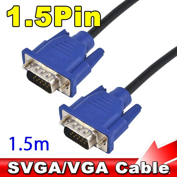 $2.30 (Buy here: https://alitems.com/g/1e8d114494ebda23ff8b16525dc3e8/?i=5&ulp=https%3A%2F%2Fwww.aliexpress.com%2Fitem%2F1PC-1-5-M-5FT-15-Pin-VGA-Cable-HDB15-SUPER-VGA-SVGA-Male-To-Male%2F32642188908.html ) 1PC 1.5 M 5FT 15 Pin VGA Cable HDB15 SUPER VGA SVGA Male To Male Video VGA Connector Cable Cord Extension Monitor FOR PC TV for just $2.30